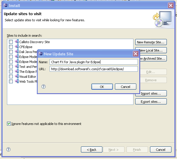 Chart FX for Java 6 5 - Eclipse Plug-inEdit Article
